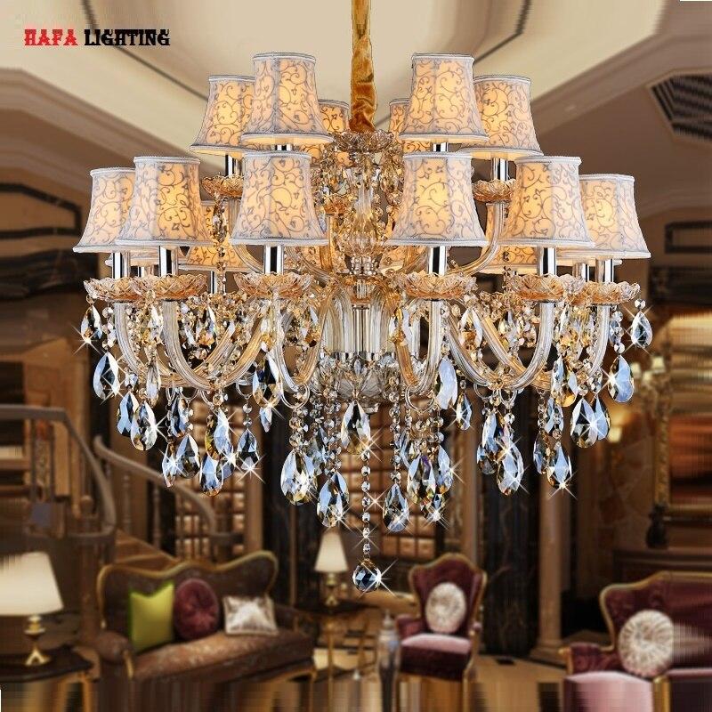 crystal Chandelier light for Bedroom Living room crystal light fixture candle chandelier light Luxury Crystal Lighting