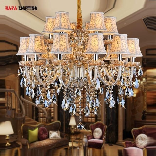 Crystal Chandelier Light For Bedroom Living Room Fixture Candle Luxury Lighting