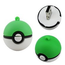 Poke Ball USB Flash Drive 4GB 8GB 16GB Pendrive 32GB 64GB