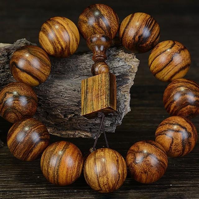 Agar Natural Wooden Bracelet