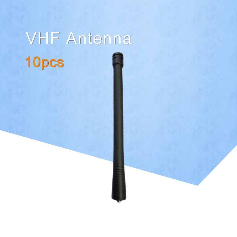 <font><b>10</b></font> x VHF Antenna For Motorola Radios Walkie Talkies GP88 GP88S GP328 GP338 GP338 PLUS 6Inch (15CM) 136-174 <font><b>MHz</b></font> image