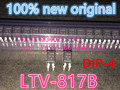 100% New original LTV-817B 817B DIP-4 optocoupler IC chip element