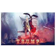 150x90cm Trump 2020 Flag Double Sided Printed Donald Keep America Great for President USA Dropshipping 3x5 Ft
