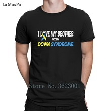 213db734 Funny T-Shirt For Men I Love My Brother With Down Syndrome Tshirt Man  Sunlight
