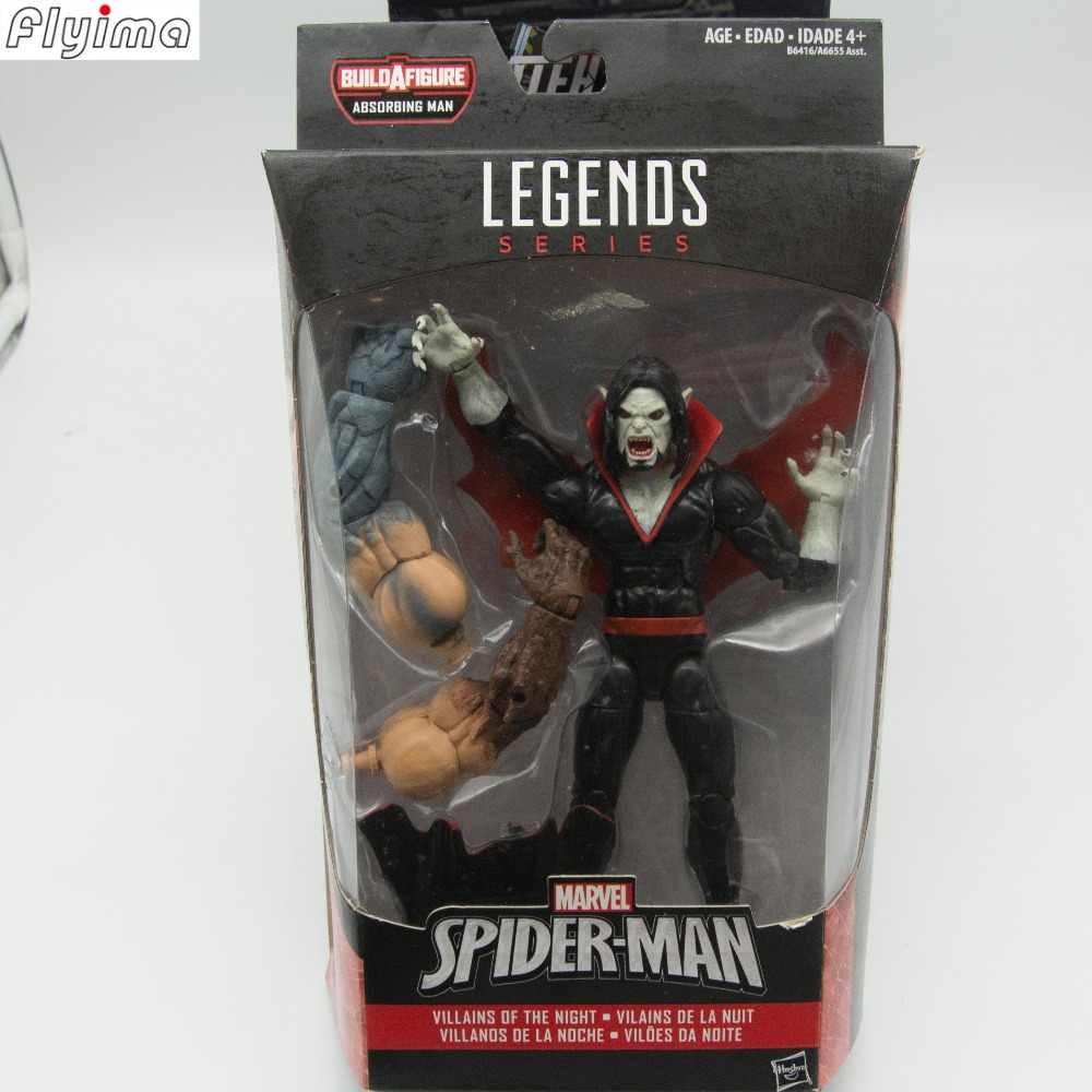 f4d945c9b99b ... 6'' action figure Marvel Legends EDGE OF SPIDER-VERSE Collection model  doll toys ...