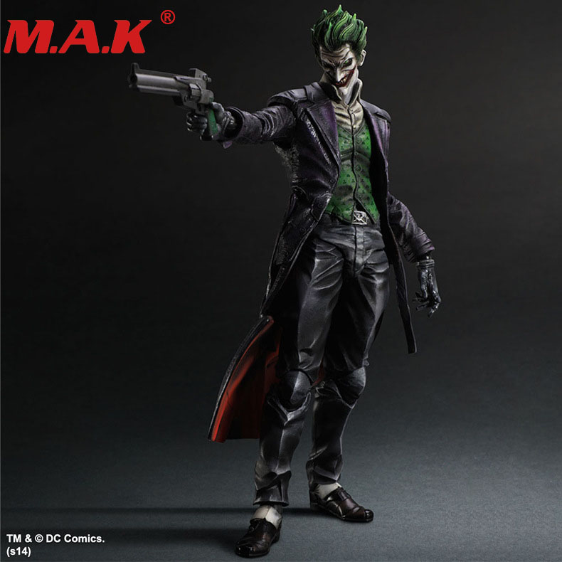 Figurine d'action Batman PA DC Joker poupée décoration figurine mobile pvc collection modèle poupée jouets 26 cm