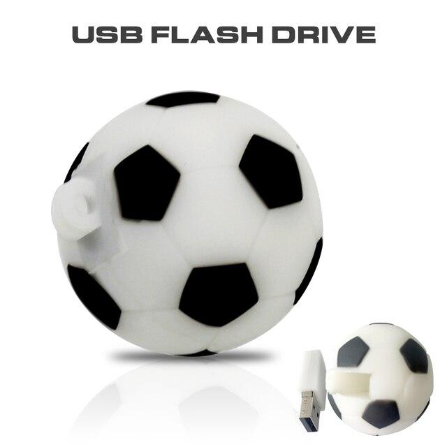 Pendrive USB Stick de Futebol 64 gb gb gb 32 16 8 gb futebol Dos Desenhos 3c44d94c6afef