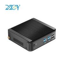 XCY X30 Mini PC 4K UHD Intel Celeron 3965U Dual-core 2.20GHz Windows 10 HD Graphics 610 DDR4 4GB 8GB RAM Fanless Mini Desktop