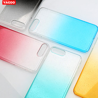 For IPhone 8 Case 8 Plus Silicon Cover Glitter Yagoo Luxury Brand For Apple IPhone8 Plus