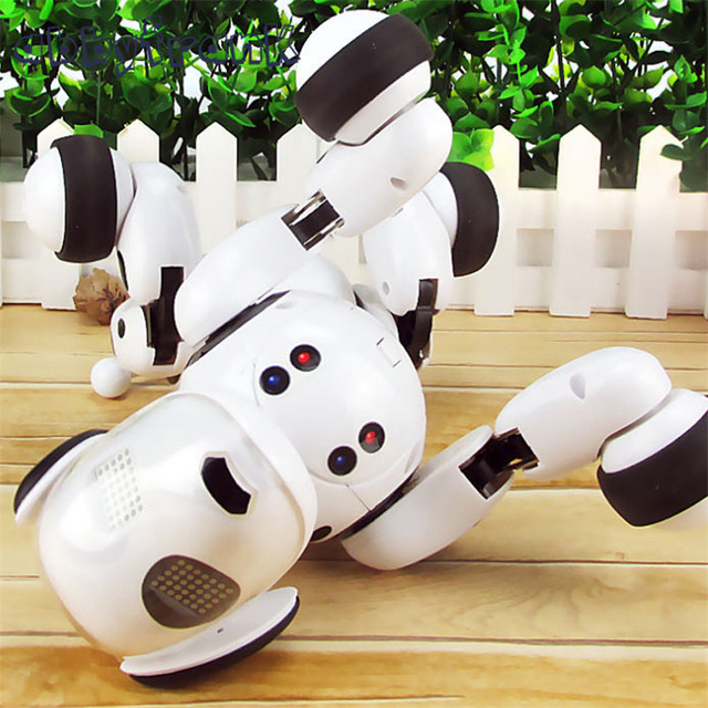 2.4G Wireless Remote Control Smart Dog Electronic Pet Educational Children's Toy Dancing Robot Dog Birthday Gift High Tech Toys