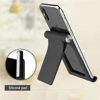 portable aluminum Universal Phone Stand for iPhone Xs max Portable Aluminum Alloy Foldable Desktop Holder Dock for Samsung S10 Switch Tablet Stand (2)