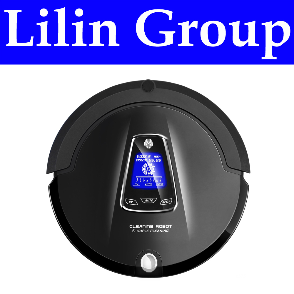 (RU Warehouse)LIECTROUX A335 Multifunction Robot Vacuum Cleaner (Sweep,Vacuum,Mop,Sterilize),Schedule,Virtual Blocker,SelfCharge