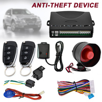 Car Alarm Car Remote Control System Kit Anti theft for Central Door Lock Locking DXY88