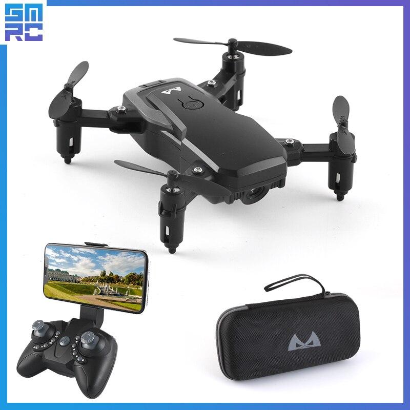 Una Chiave di Ritorno di Alta Tenere Modalità Senza Testa Selfie Professionale Elicottero Lunga durata della batteria Pieghevole FPV wifi drone con la macchina fotografica HD