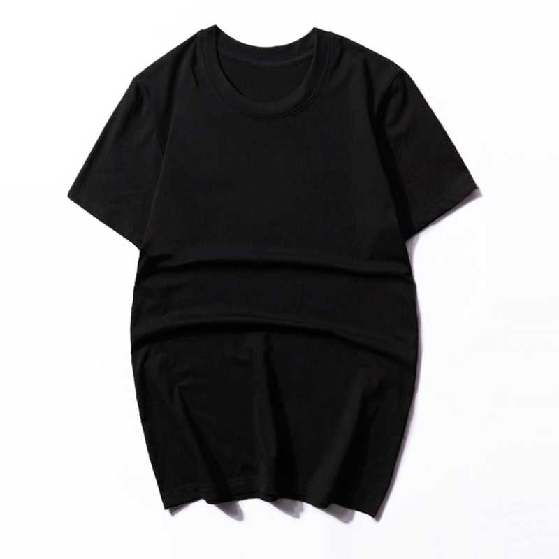 男性の夏の tシャツ半袖プラスサイズビッグセール男カジュアル 8XL 10XL 12XL シンプルなホーム tシャツ無地黒 tシャツ 60 62 66