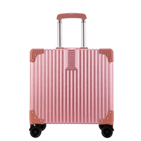 18 inch Rolling Luggage Spinner Wheels Suitcases Trolley Men ABS+PC Travel bag Trunk Student Password box Women Carry On Luggage