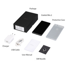 OUKITEL Mobile Phone Oukitel MIX 2 Telephone 6G RAM 64G ROM 5.99″ Full Screen MTK6757 Octa Core Fingerprint Android 7 Smartphone
