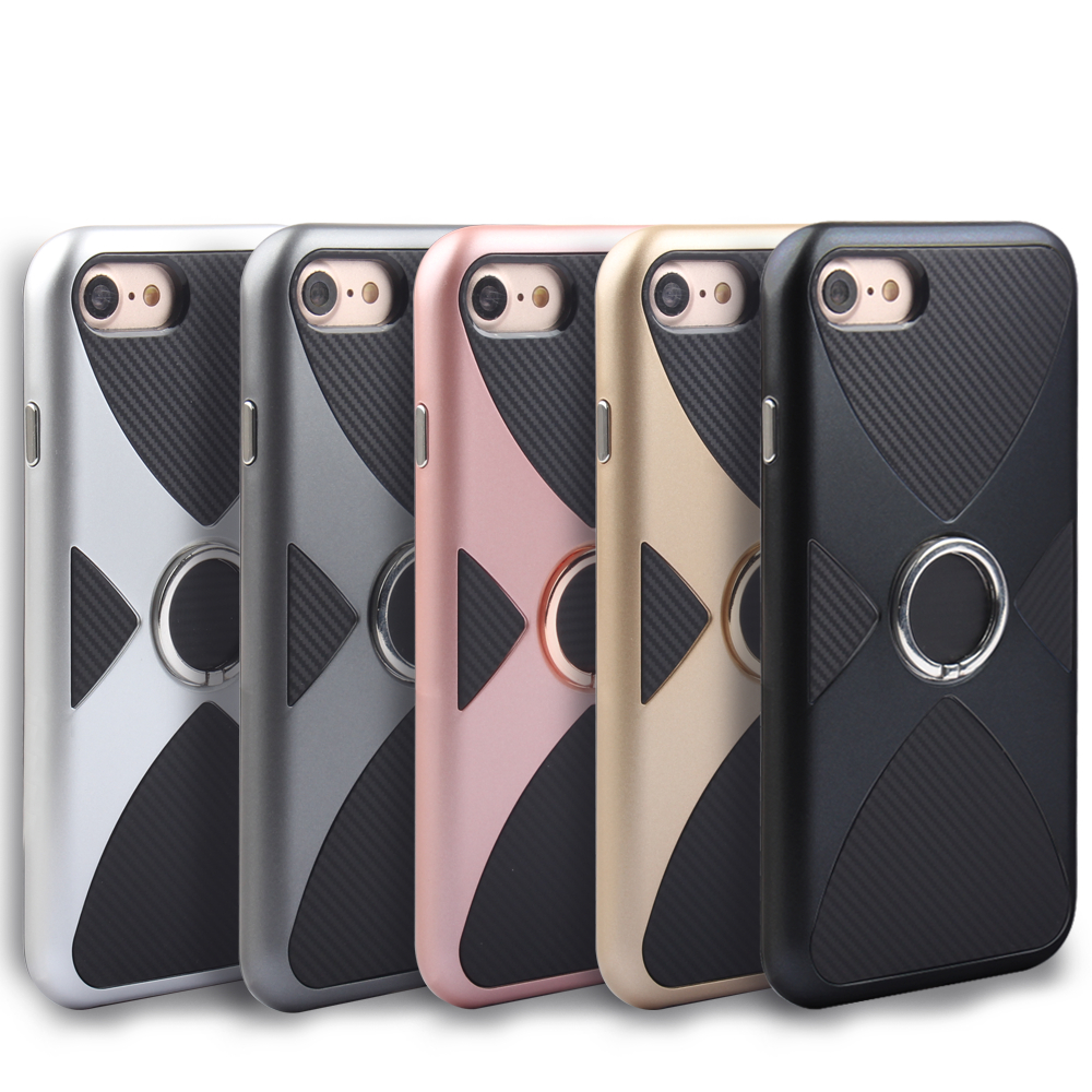 Mobile <font><b>Phone</b></font> Cases For iPhone 6 6S 7 Plus Case Silicone <font><b>Plastic</b></font> <font><b>Ring</b></font> Holder Stand <font><b>Phone</b></font> Fundas On 6 6S Plus 7P Cover 4.7&#8221; 5.5&#8221;