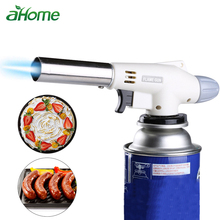 Gas BBQ Barbecue Lighter Flame Fire Guns Flamethrower Gas Blow Torch Kitchen Supplies Torch Flamethrower Soldering Cooking Tools special offer wholesale authentic shoot suction liquefied gas flamethrower gas gun flamethrower type yd30 35 50