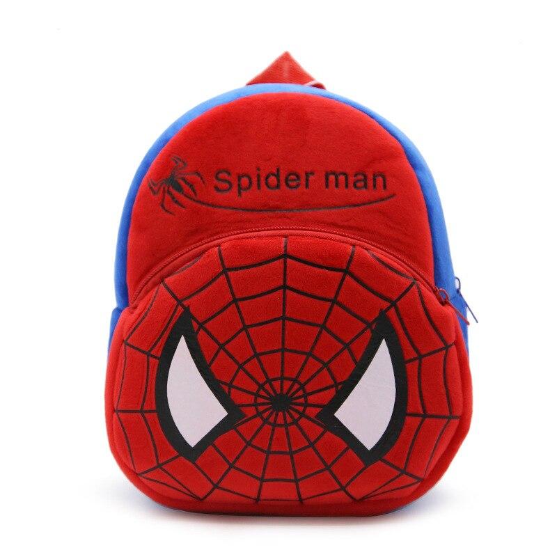 Sacchetto di Scuola dei bambini Del Fumetto Spiderman Zaini Morbido Peluche  Asilo Borsa di Natale Regali Di Compleanno per 1 3 Anni I Bambini in  Sacchetto ... 5057040eb624