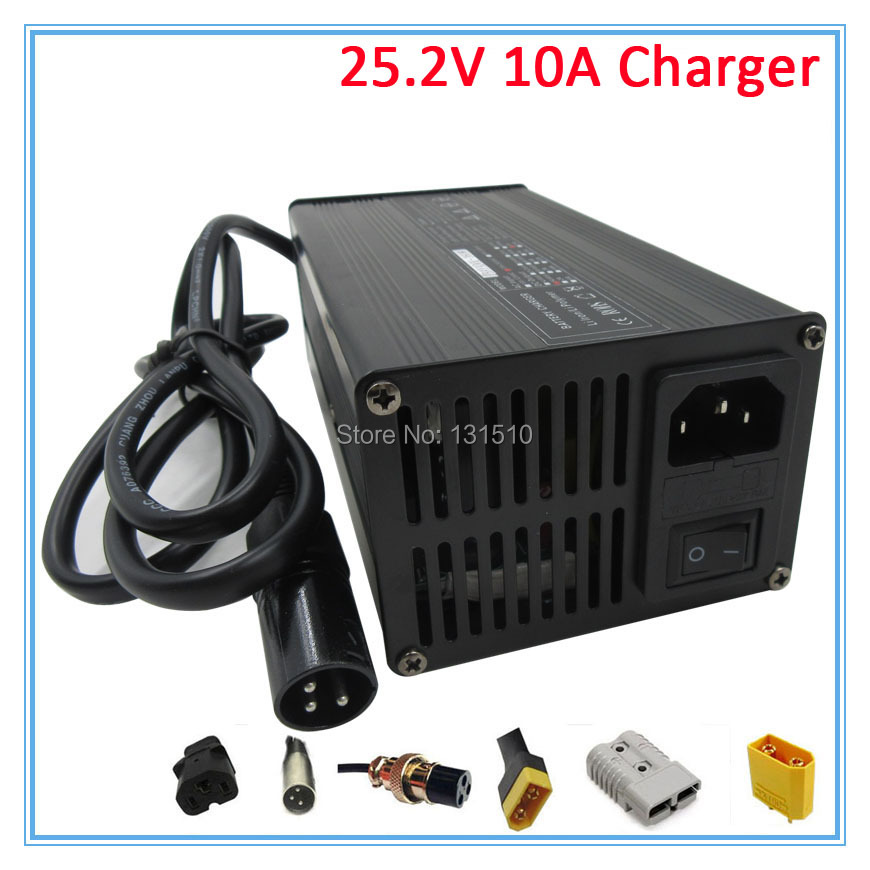 Back To Search Resultsconsumer Electronics Accessories & Parts Adaptable High Power 300w 25.2v 10a Charger 25.2v10a Li-ion Battery Charger Input 100-120v Or 220-240v For 6s Lithium Battery Pack