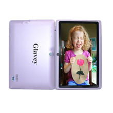 Glavey 7 Inch kids tablet pc Q88 allwinner A33 quad Core 1.5GHz Android 4.4 Bluetooth WIFI 512MB 8GB Dual camera