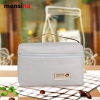 Mensina Mini Style Ice Pack Picnic Bag Easy To Pack Bag Student Portable With Hand Carry