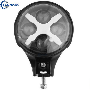 1X 6'' 60W Led Spotlight Headlight Fog Lamp DRL For Jeep Wrangle Trucks SUV Off Road 4X4 With X Angle eyes White/Red/Blue/Amber