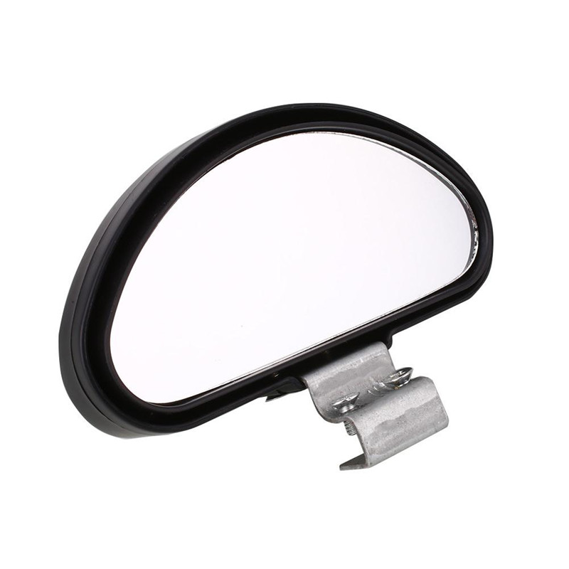 1Pc Car Wide Angle Mirror 360 Degree Convex Blind Spot Mirror Parking Auto Motorcycle Rear View Adjustable Mirror Accessories