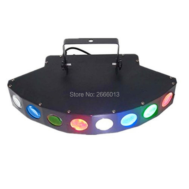 Niugul LED Eight-beam Fan Beam Light ,RGBW LED Scan Stage Lighting, DJ Scanning Beam Effect Lights For Bar Disco Wedding Events chauvet dj beam bar