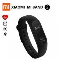 EN STOCK! 100% D'origine Xiaomi Mi Bande 2 Miband Bracelet Bracelet avec Smart Fréquence Cardiaque Fitness Touchpad Écran OLED