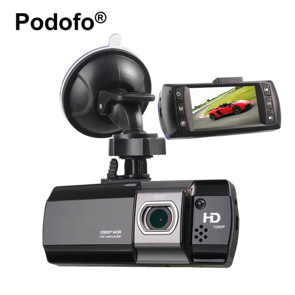 DVR Carro Novatek 96650 AT550 Podofo FHD 1080 P 2.7 LCD Carro Câmera Dashcam Registrator Gravador de Vídeo de Visão Noturna Carro Cobre DVRs
