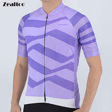Zealtoo Cycling Jersey Mtb Bicycle Clothing Bike Wear Clothes Short Maillot Roupa Ropa De Ciclismo Hombre Verano bike jersey