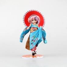22CM Cartoon Good Smile Puella Magi Madoka Magica Kaname Madoka Maiko Ver 1/8 PVC Action Figure Toy TT040