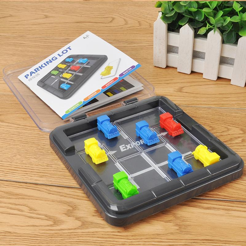 Plastic Car Escape Puzzle Game Brain Teaser for Kids Educational Toy Gifts Educational Table Game Gift