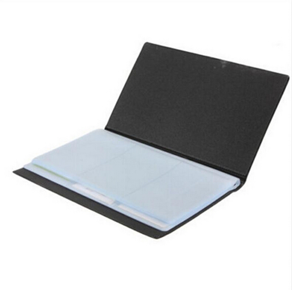 1pcs simple unisex card wallet leather 120 cards id business card 1pcs simple unisex card wallet leather 120 cards id business card holder book case keeper organizer new credit card holder in card id holders from luggage colourmoves