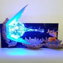 Dragon Ball лампа сон госветодио дный ку светодиодные ночники Kamehameha Lampara Dragon Ball Гоку Супер Saiyan DBZ настольная EMS