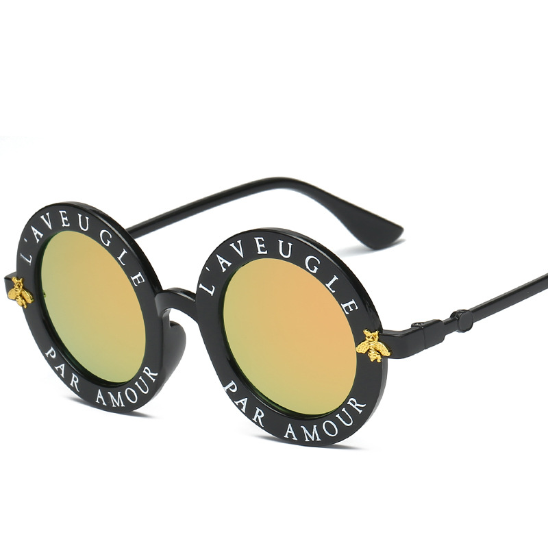Plastic Frame English Letters Sungles Women Brand Vintage Cute Fashion Hd Mirror Lens Sun Gles Shades In From Arel Accessories On