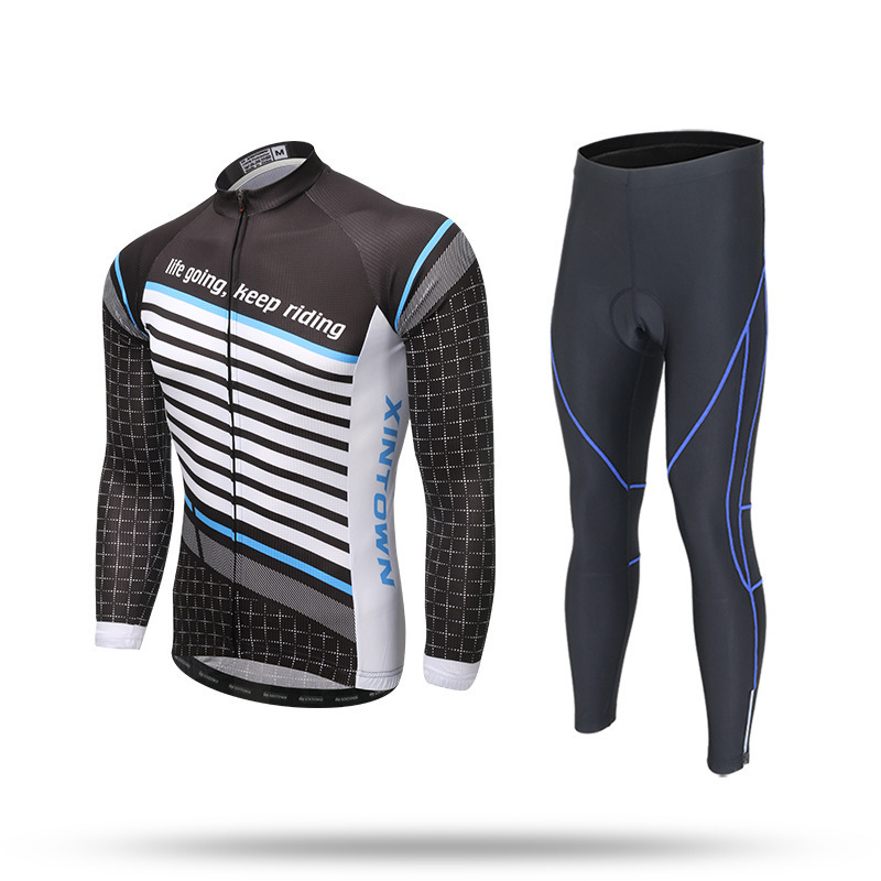 XINTOWN Spring Couples Men Women Bicycle Wear Bike Clothing Suit Invierno Maillot Ciclismo Spring Long Sleeve Cycling Jersey Set fualrny 2018 thermal fleece bicycle wear bike clothing suit invierno maillot ciclismo winter long sleeve cycling jersey set 006