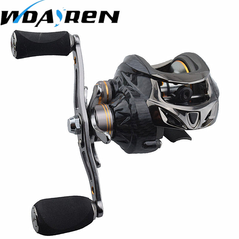 NEW 18 + 1 Bearings Fishing Reels GT 6.3: 1 Bait Casting Reels Left Right Hand Fishing with One Way Clutch Bait casting Reel dmk baitcasting reel 13 1bb 7 0 1 left right hand high speed fishing reels bait casting vissen carretilha de pesca carp coil