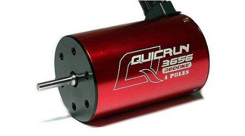 HOBBYWING QUICRUN 3656 3800KV 4Pole Sensorless Brushless Motor 1/10 RC Car стоимость