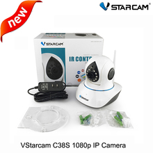 VStarcam C38S full HD 1080 P 2.0MP Wifi Cámara IP P2P ONVIF IR Cut Wireless P/T Cámara 2-way Audio de Vigilancia de Seguridad cámara