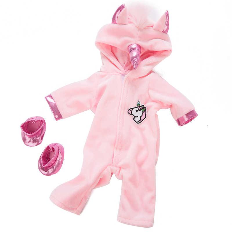 Cavallo Caldo Tute E Tute da Palestra Fit per Nascere 43 Centimetri Body E Pagliaccetti Doll Vestiti per Le Bambole Accessori per 17 Pollici Baby Doll