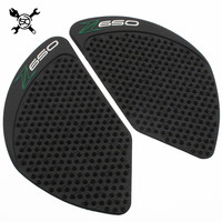 Anti Slip Tank Protective Pad Side Gas Knee Grip Traction Pads Protector Stickers Fits KAWASAKI Z650
