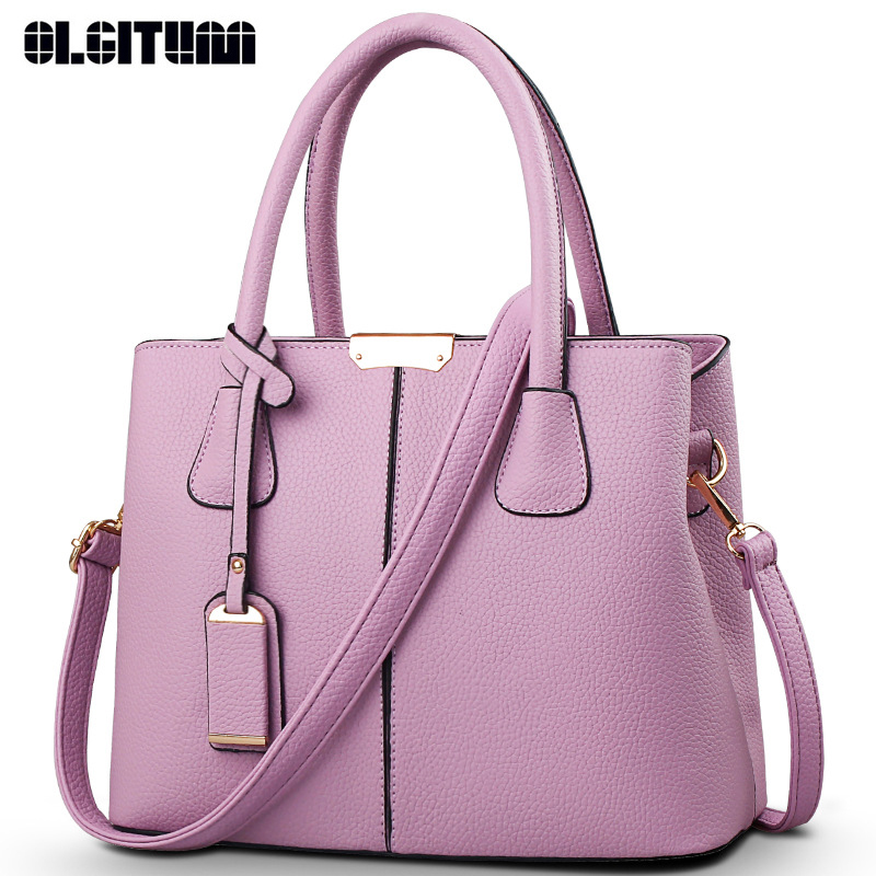 olgitum hot sale 2017 new fashion big bag women shoulder messenger bag ladies handbag f403 in. Black Bedroom Furniture Sets. Home Design Ideas