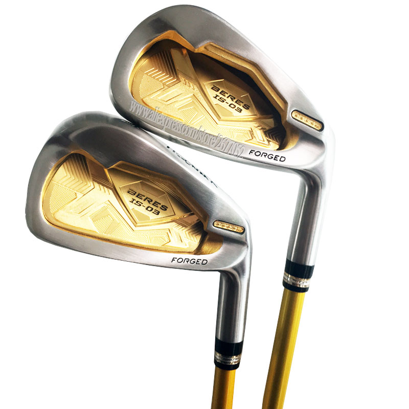 Cooyute New Golf Clubs HONMA S-03 4Star Golf Irons set 4-11.Aw.Sw IS-03 Graphite Golf shaft irons Clubs headcover Free shipping