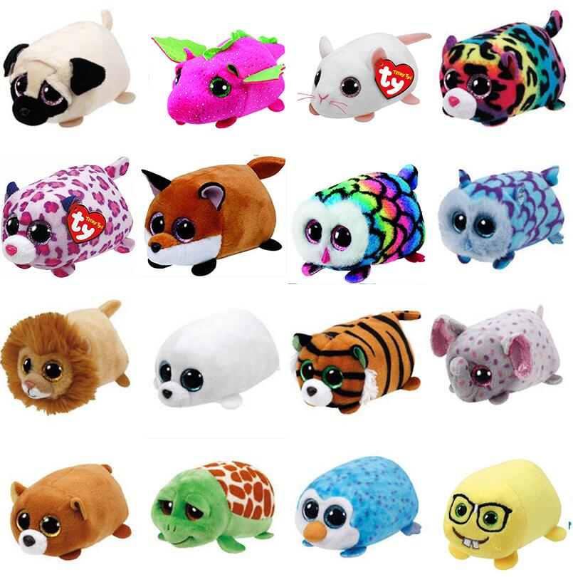 """TY Beanie Boos Teeny Tys 4/"""" SLIPPERY the Seal Stackable Plush Stuffed Animal Toy"""