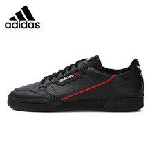 Адидас Официальный Оригинальный Классический Континентальный 80 Rascal Скейтбординг обувь; кроссовки для спорта легкий вес досуг на шнуровке MB41672