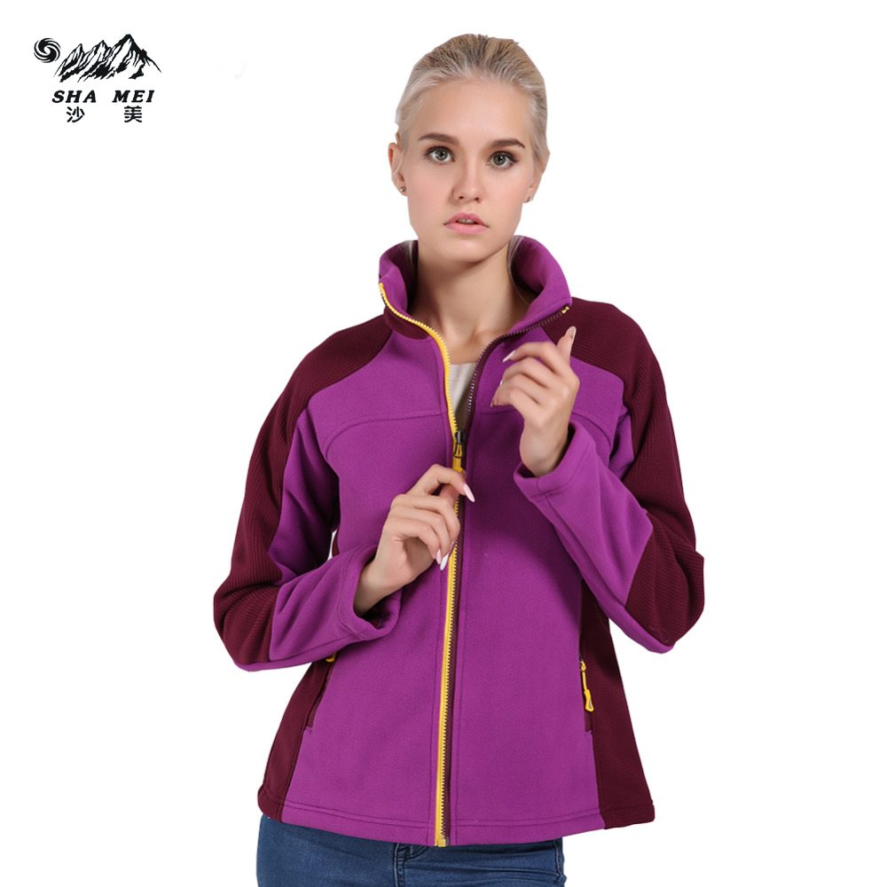 Women Female Windproof Thermal Coat Soft Chaqueta Winter Hiking Jackets Outdoor Camping Trekking Warm Fleece Jacket цена