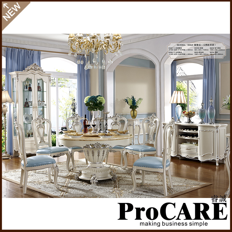 The Best Dining Room Furniture: Luxury Italian Dining Room Furniture Marble Top Dining
